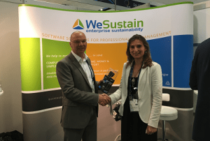 WeSustain GmbH Messestand